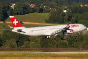 HB-JMO - Swiss Airbus A340-300 aircraft