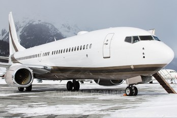 VQ-BOS - Private Boeing 737-800 BBJ