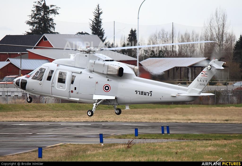 Thailand - Navy  2312 aircraft at Langley Regional, BC