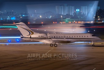 PR-MLJ - Private Bombardier BD-700 Global Express
