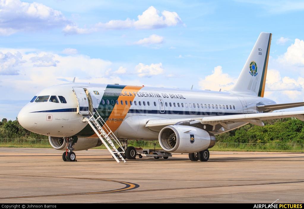 Brazil - Air Force 2101 aircraft at Brasília - Presidente Juscelino Kubitschek Intl
