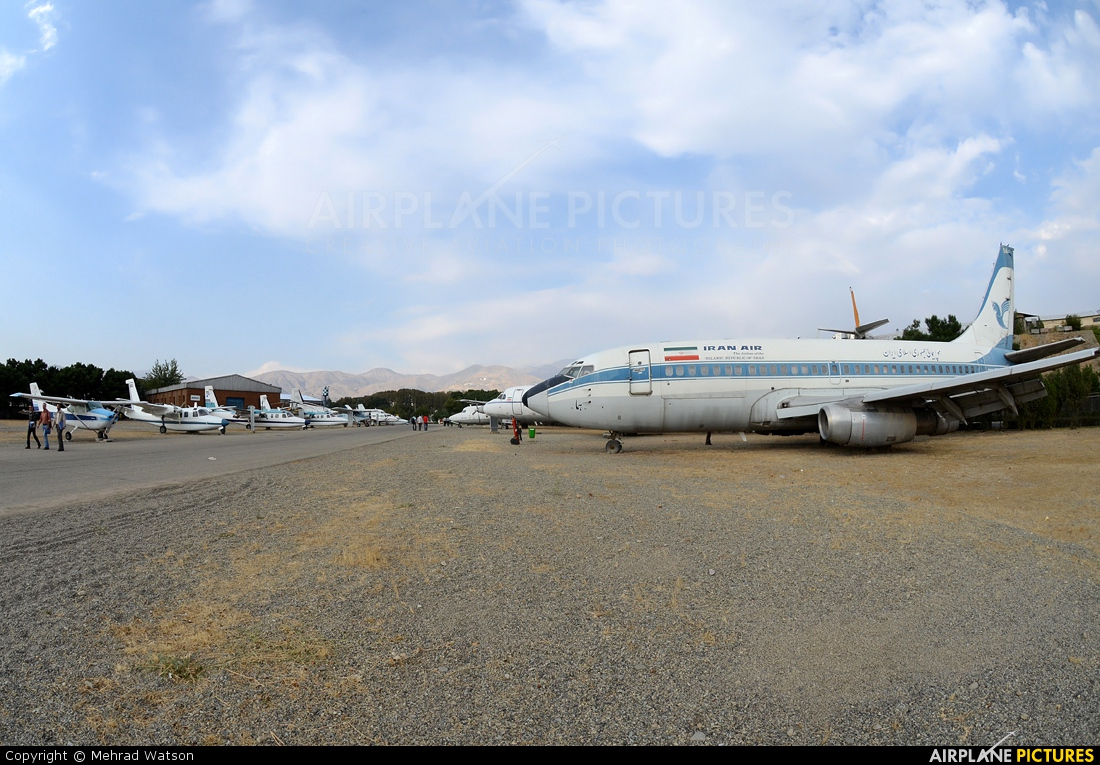 Iran Air EP-IGA aircraft at Tehran - Mehrabad Intl