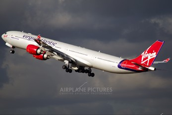 G-VFIZ - Virgin Atlantic Airbus A340-600