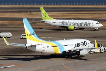 JA01AN - Air Do - Hokkaido International Airlines Boeing 737-700