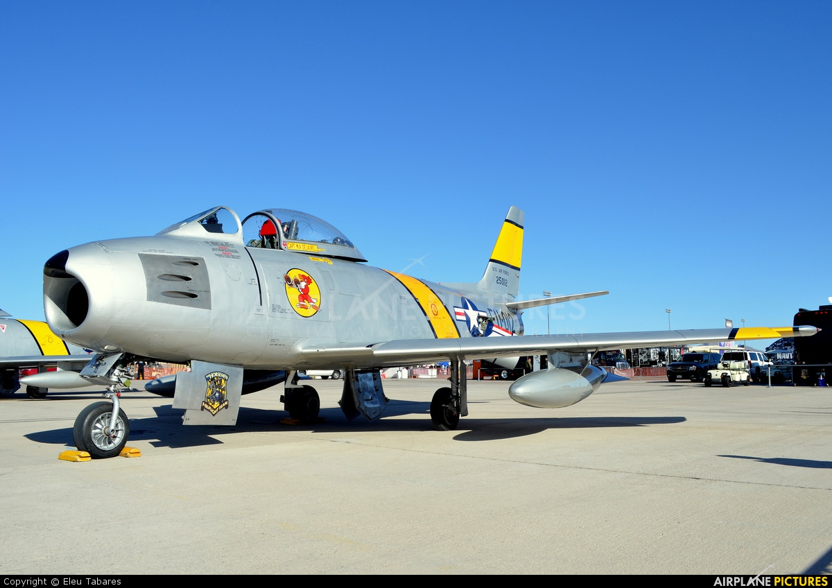 Air Museum Chino NX186AM aircraft at Nellis AFB