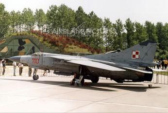 110 - Poland - Air Force Mikoyan-Gurevich MiG-23MF