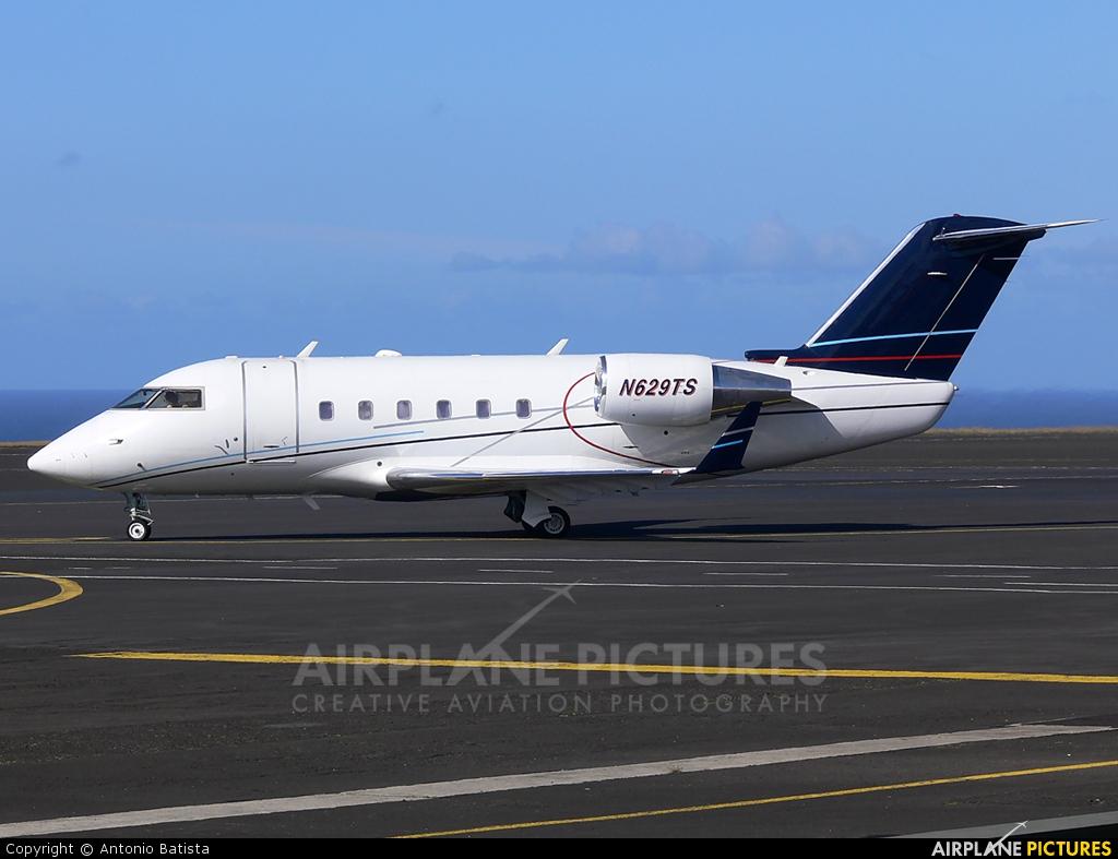 Private N629TS aircraft at Azores - Santa Maria