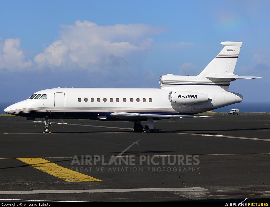 Private M-JMMM aircraft at Azores - Santa Maria