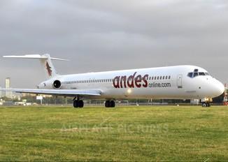 LV-BGV - Andes Lineas Aereas  McDonnell Douglas MD-83