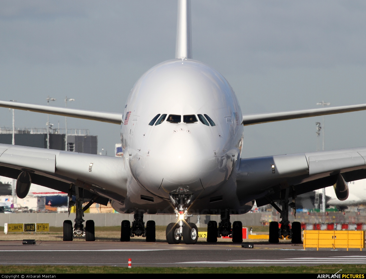 Malaysia Airlines 9M-MNC aircraft at London - Heathrow