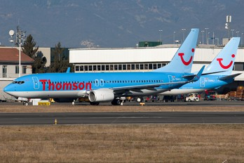 G-TAWG - Thomson/Thomsonfly Boeing 737-800