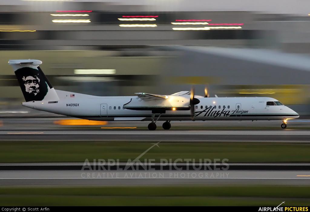 Alaska Airlines - Horizon Air N409QX aircraft at Los Angeles Intl