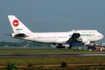 TF-AMY - Biman Bangladesh Boeing 747-400