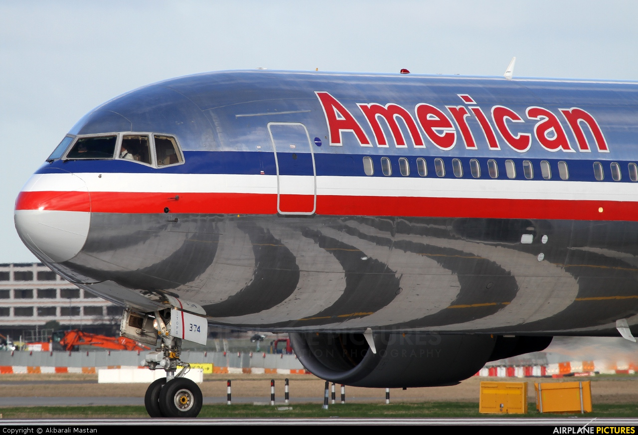 American Airlines N374AA aircraft at London - Heathrow