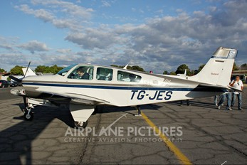 TG-JES - Private Beechcraft 33 Debonair / Bonanza