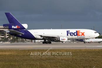 N387FE - FedEx Federal Express McDonnell Douglas DC-10F