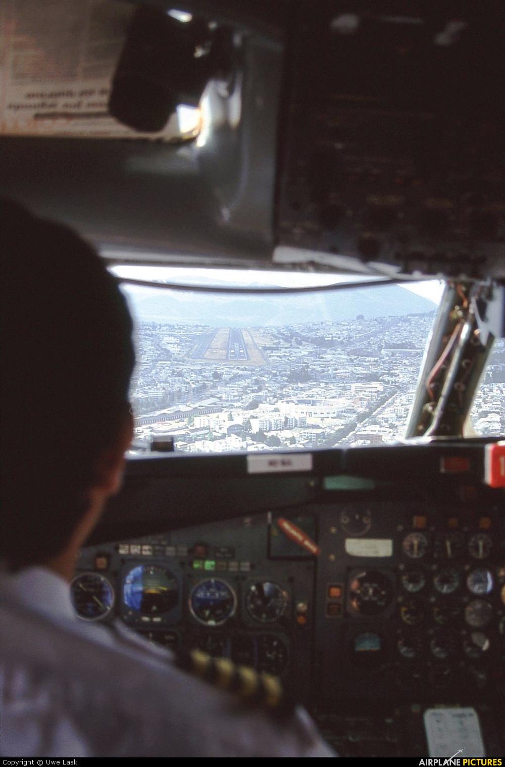 Saeta - aircraft at Quito - Mariscal Sucre