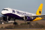 G-OZBX - Monarch Airlines Airbus A320 aircraft