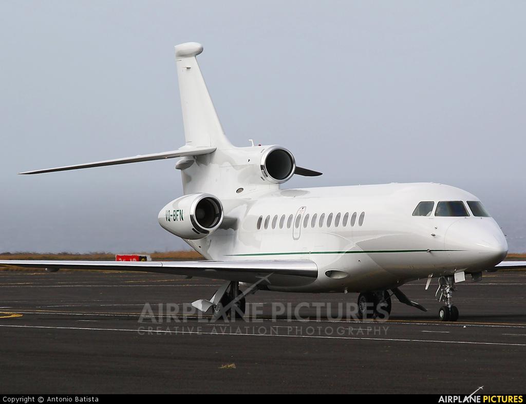 Private VQ-BFN aircraft at Azores - Santa Maria