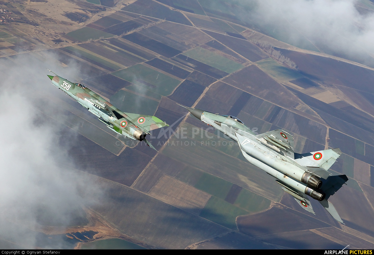 Bulgaria - Air Force 17 aircraft at In Flight - Bulgaria