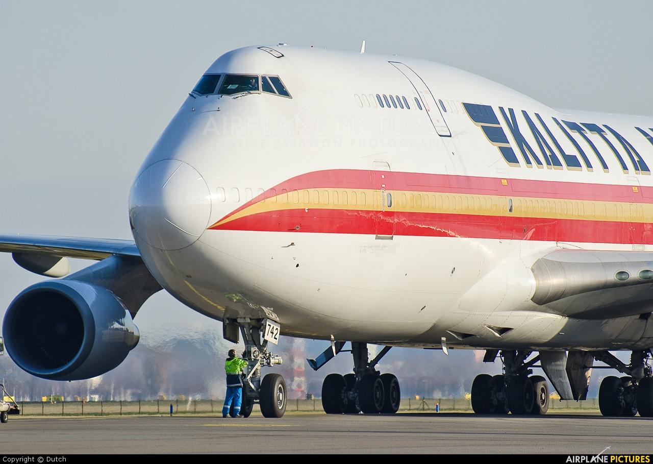 Kalitta Air N742CK aircraft at Amsterdam - Schiphol