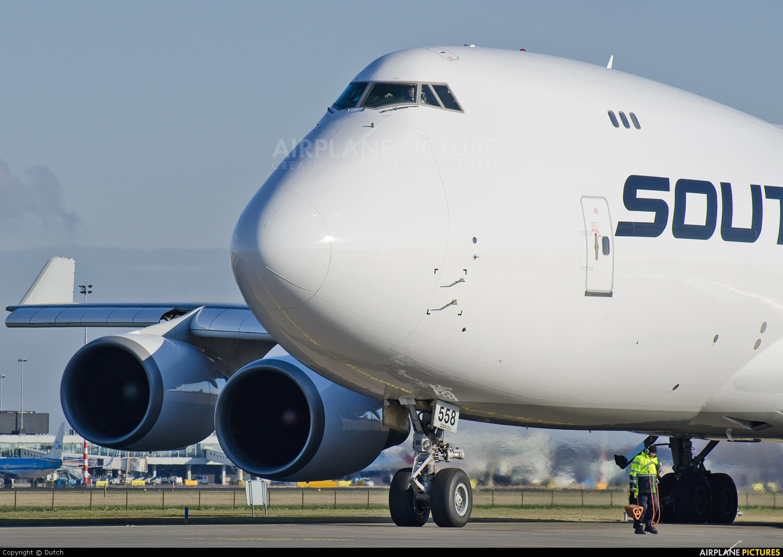 Southern Air Transport N558CL aircraft at Amsterdam - Schiphol