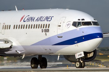 B-18609 - China Airlines Boeing 737-800
