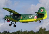 7447 - Poland - Air Force Antonov An-2 aircraft
