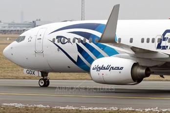 SU-GDX - Egyptair Boeing 737-800