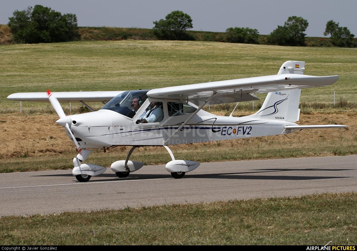 Private EC-FV2 aircraft at Igualada - Odena