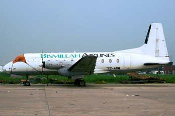 S2-ADW - Bismillah Airlines Hawker Siddeley HS.748