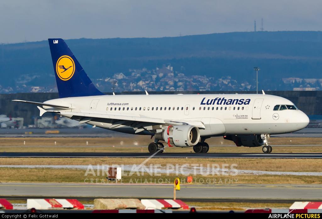 Lufthansa D-AILM aircraft at Frankfurt