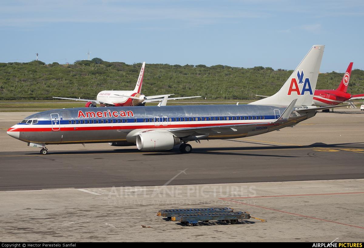 N850NN - American Airlines Boeing 737-800 at Caracas