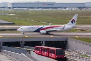 9M-MLK - Malaysia Airlines Boeing 737-800 aircraft