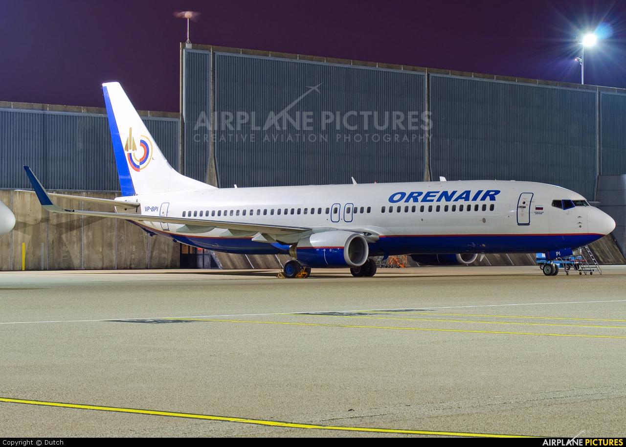 Orenair VP-BPI aircraft at Amsterdam - Schiphol