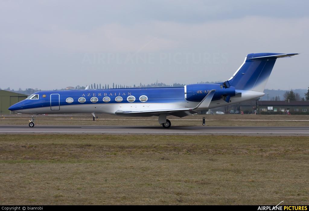 Azerbaijan - Government 4K-A106 aircraft at Verona - Villafranca