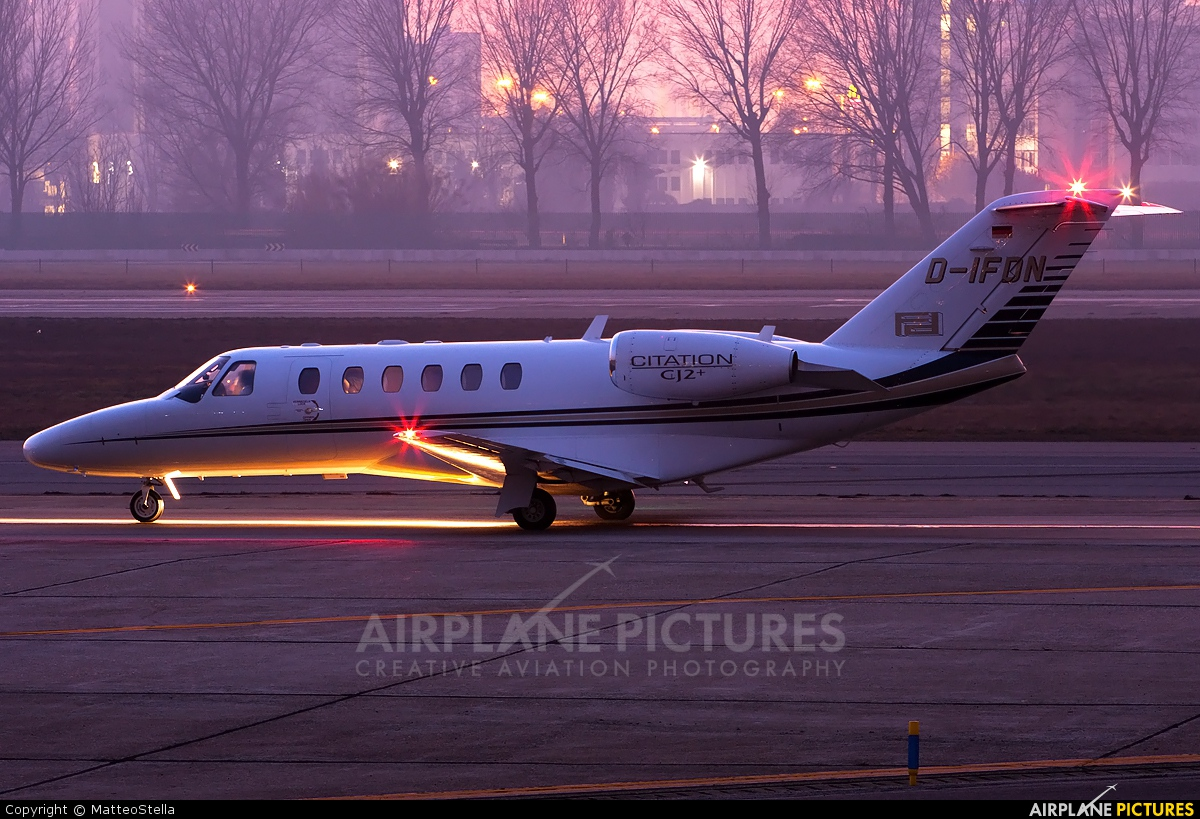 Private D-IFDN aircraft at Milan - Linate