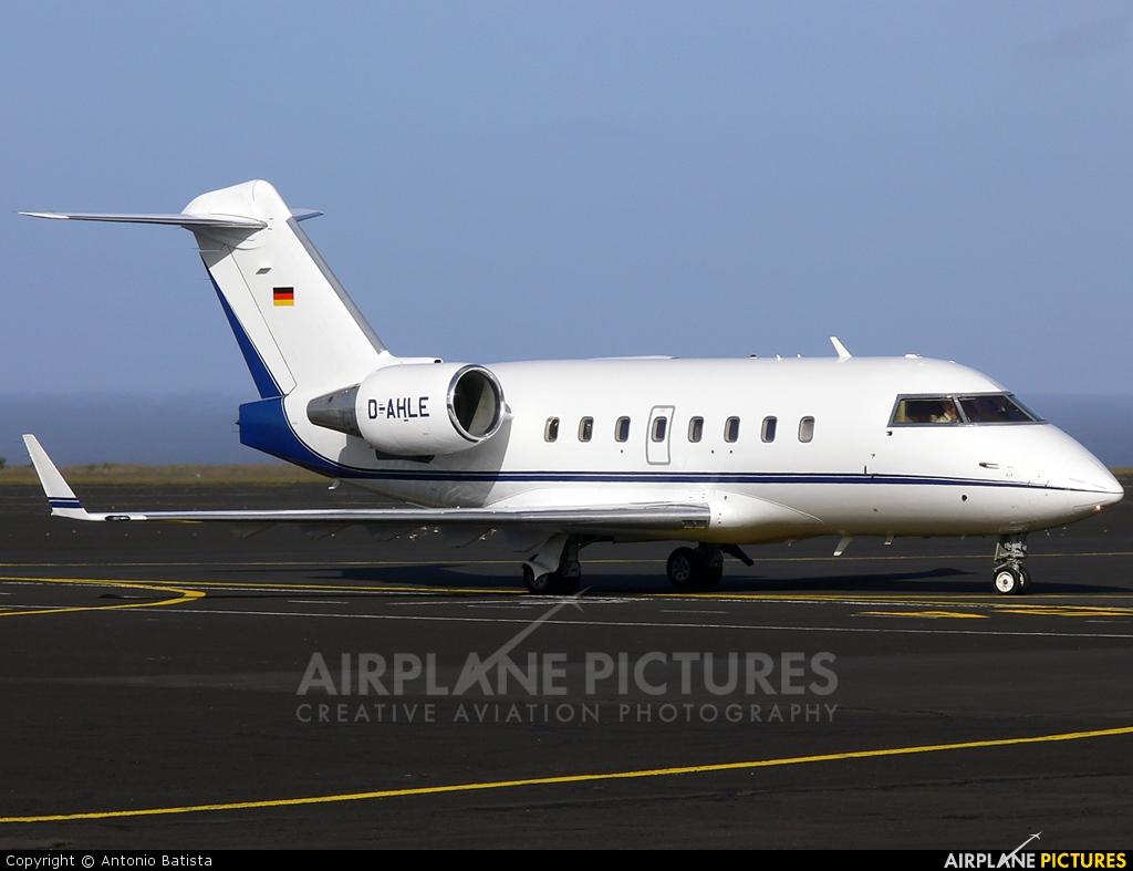 Private D-AHLE aircraft at Azores - Santa Maria