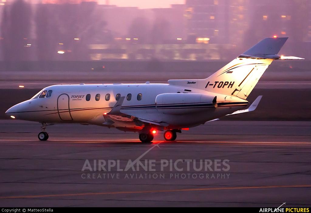 Top Jet Executive I-TOPH aircraft at Milan - Linate
