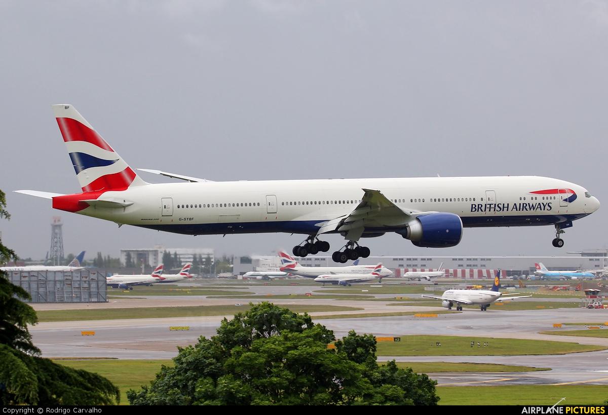 British Airways G-STBF aircraft at London - Heathrow