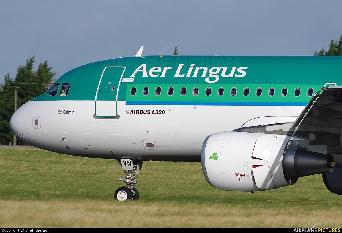 Aer Lingus EI-DVN aircraft at Dublin