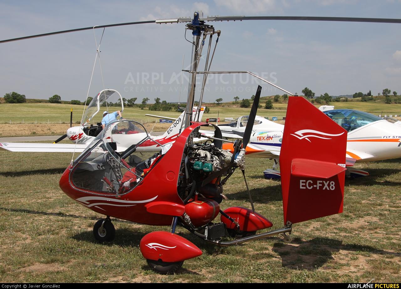 Airbet EC-FX8 aircraft at Igualada - Odena