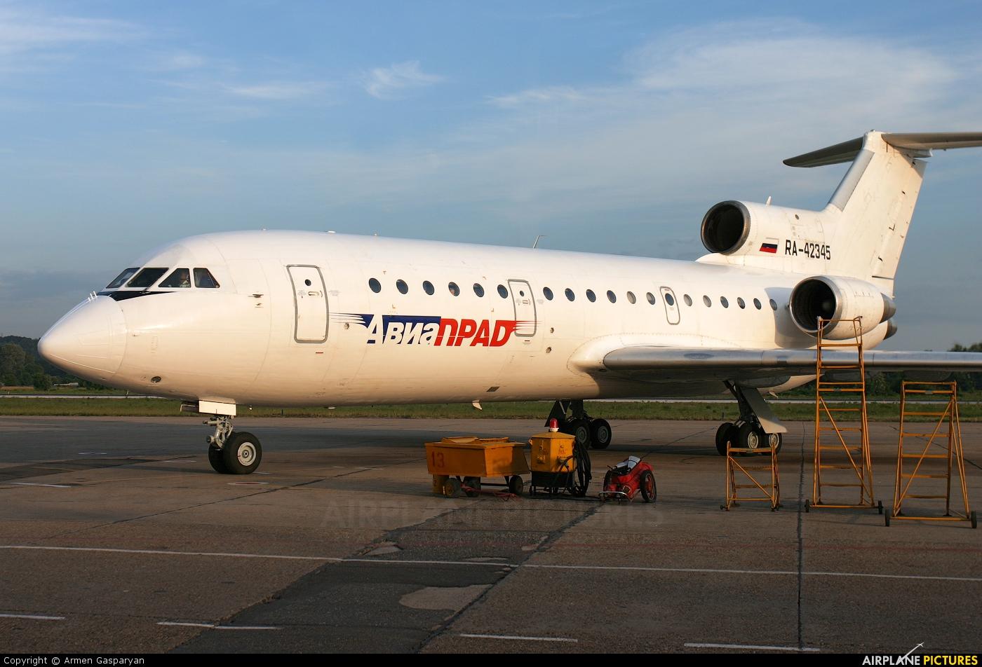 Aviaprad RA-42345 aircraft at Sochi Intl