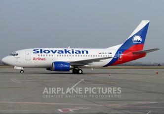 OM-BTS - Slovakian Airlines Boeing 737-500