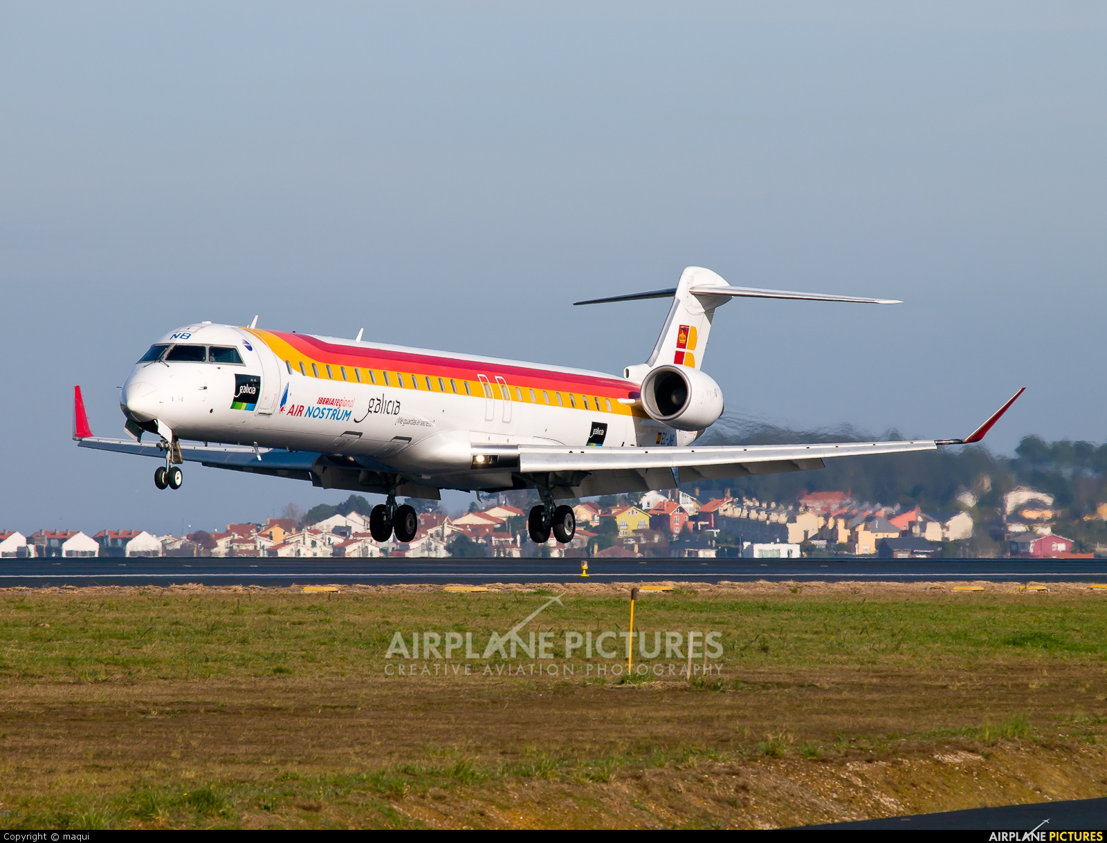 Air Nostrum - Iberia Regional EC-JNB aircraft at La Coruña