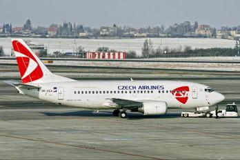 OK-XGA - CSA - Czech Airlines Boeing 737-500