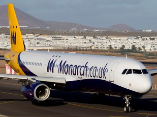 G-OZBG - Monarch Airlines Airbus A321