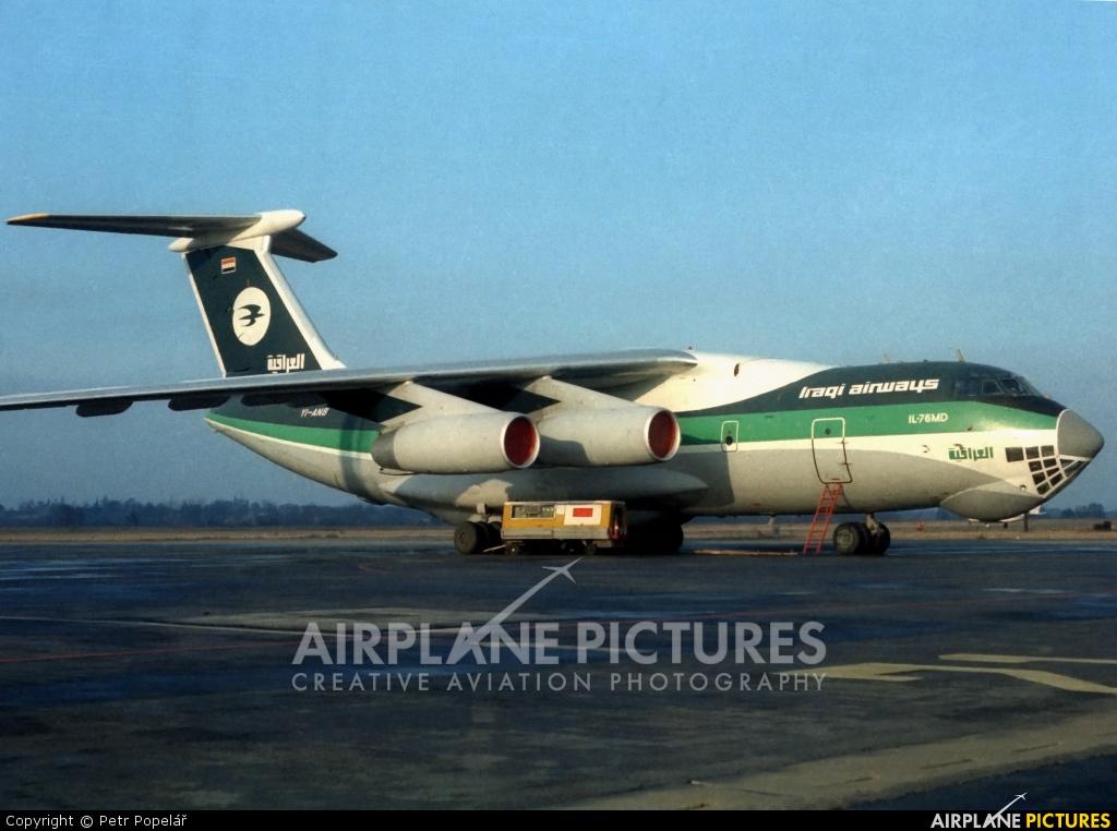 Iraqi Airways YI-AND aircraft at Prague - Václav Havel