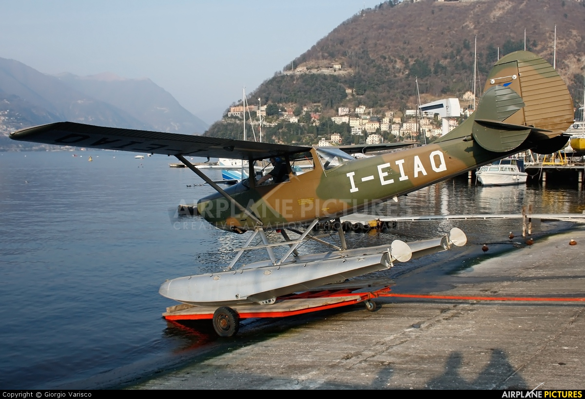 Aero Club Como I-EIAQ aircraft at Como Idroscalo