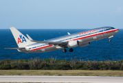 N825NN - American Airlines Boeing 737-800 aircraft